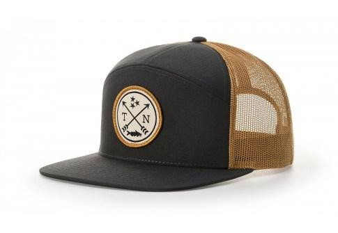 Wholesale Custom Patch Logo High Quality 7 Panel Plain Snapback Gorras Trucker Caps Hat