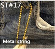 Metal string