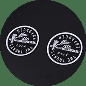 custom woven label 18
