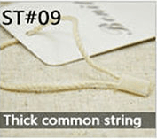 thick common string