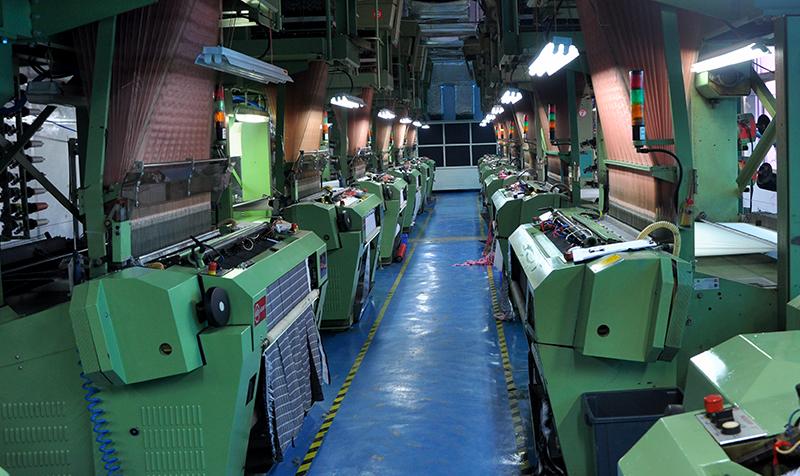 woven labels machine