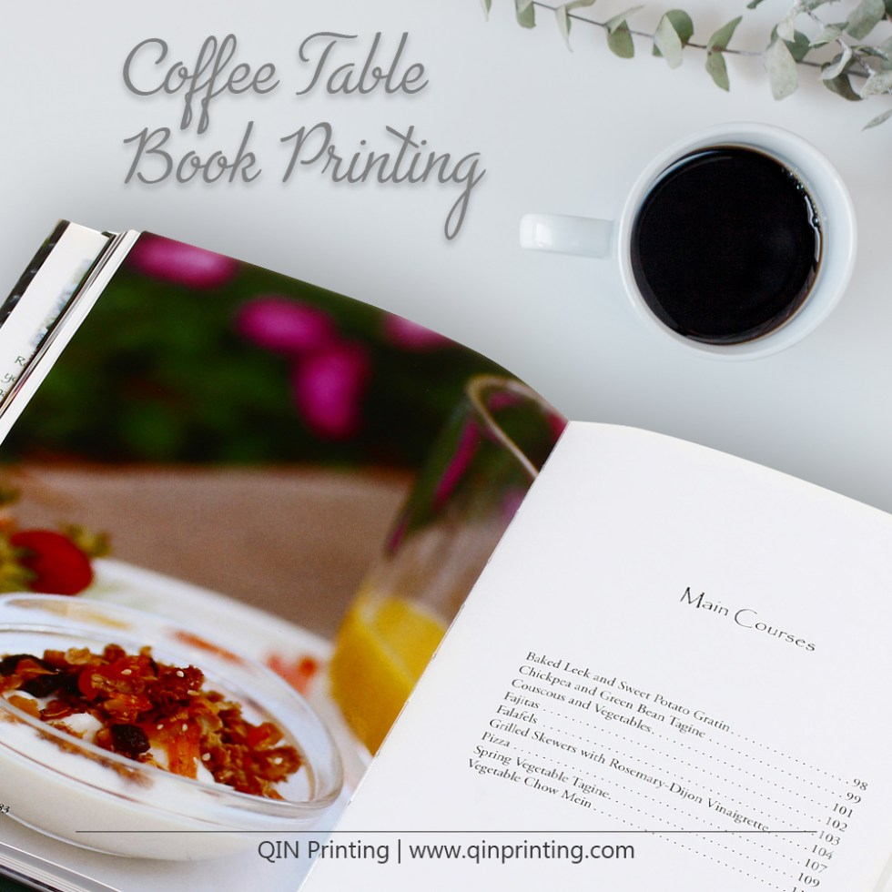 make a coffee table book