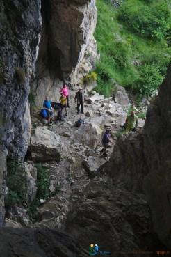 Après la visite de la grotte – Jour 1 – Tour du Marguareis – Juin 2016 – Trek, Rando, Italie