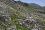 Sentier dans les lapiaz 2 – Jour 4 – Tour du Marguareis – Juin 2016 – Trek, Rando, Italie