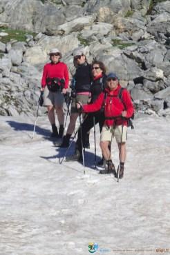 Névé dans la descente – Jour 5 – Tour du Marguareis – Juin 2016 – Trek, Rando, Italie