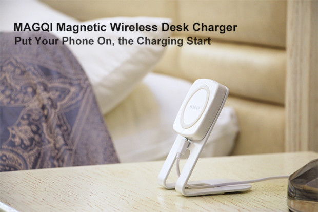 MAGQI Wireless Charging Set Aims to Make Your Life Easier