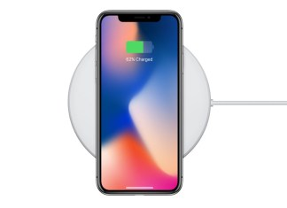 Galaxy S8 iPhone 8 wireless charging