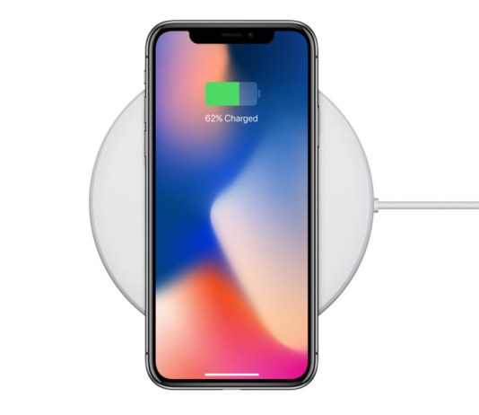 Apple iPhone wireless charging