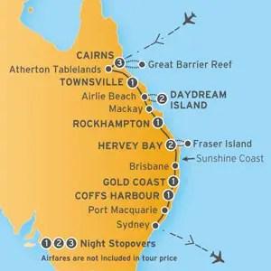 East Coast Explorer AAT Kings QLD