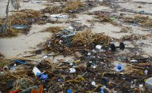 Stradbroke Island Main Beach after a storm