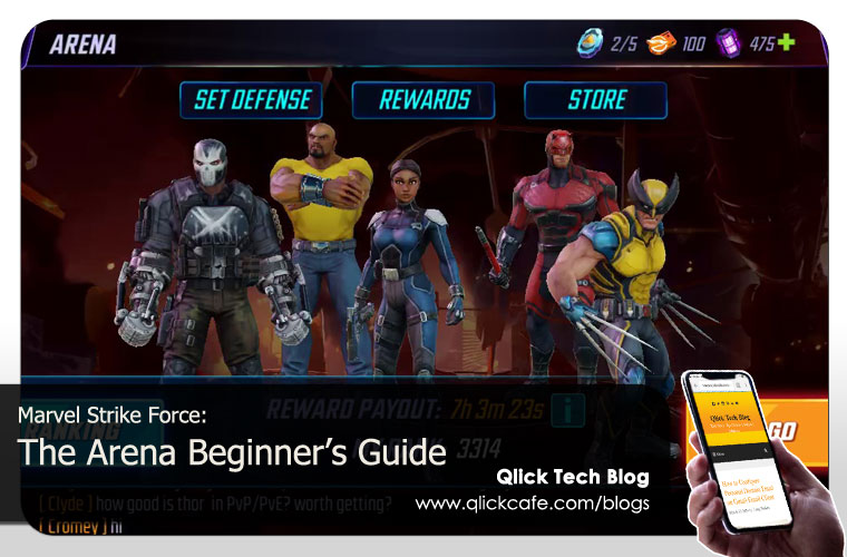 marvel strike force arena guide for beginners