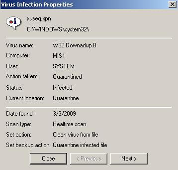 How to Remove W32 Downadup B Virus? | Qlick Tech Blog