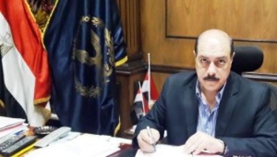 اللواء ناصر العبد  مساعد وزير الداخلية . مدير امن الفيوم