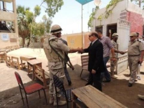 اللواء ناصر العبد مساعد وزير الداخلية لأمن الفيوم