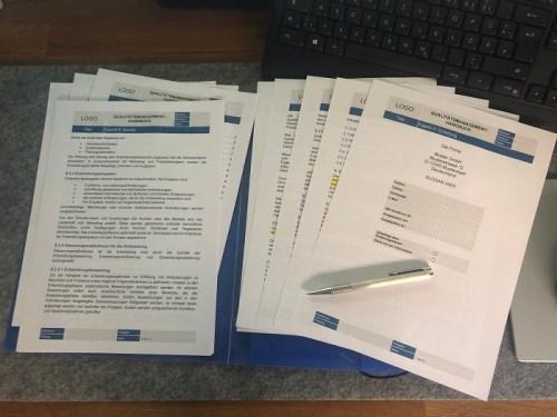 Qualitätsmanagement Handbuch