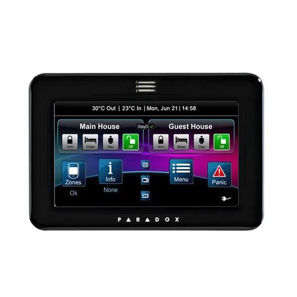 TM50 Paradox Touch screen Keypad