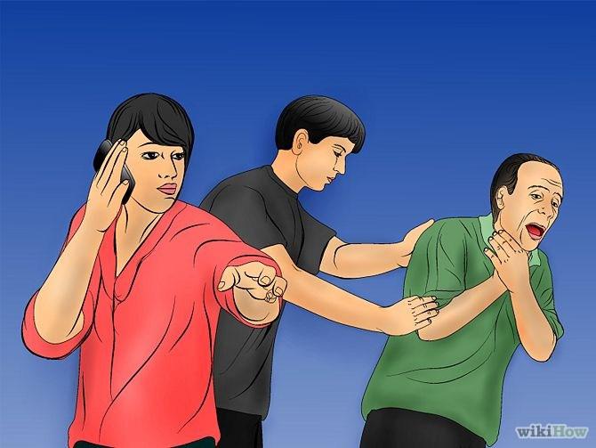 Maniobra de Heimlich paso 8