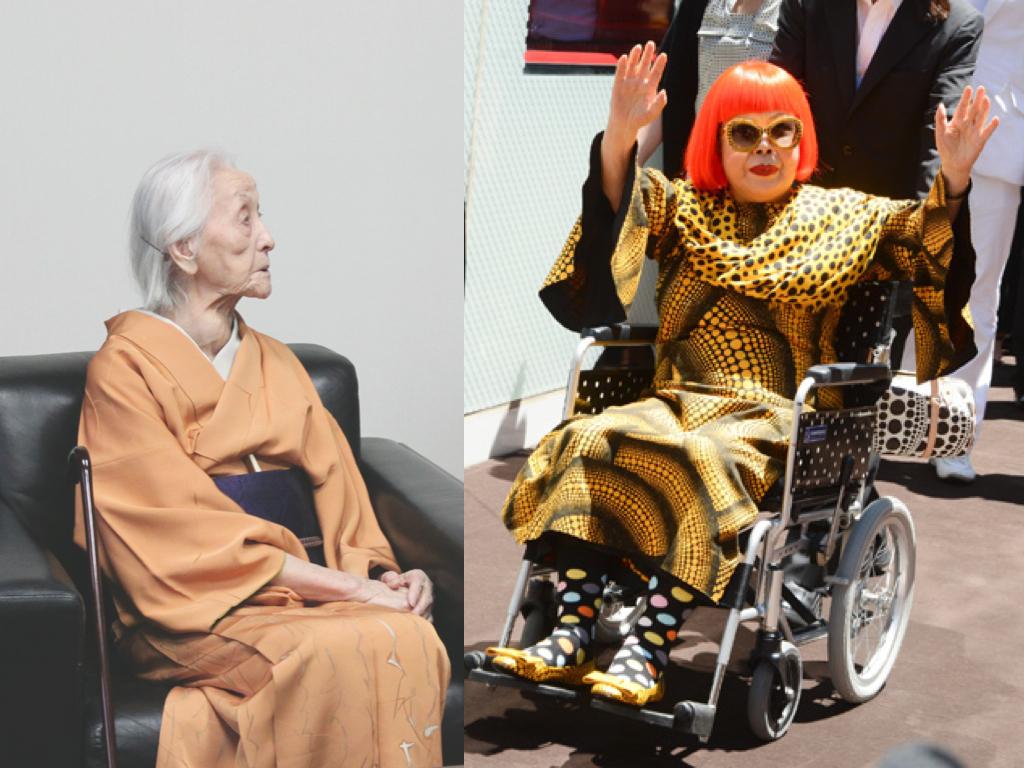 Toko Shinoda & Yayoi Kusama