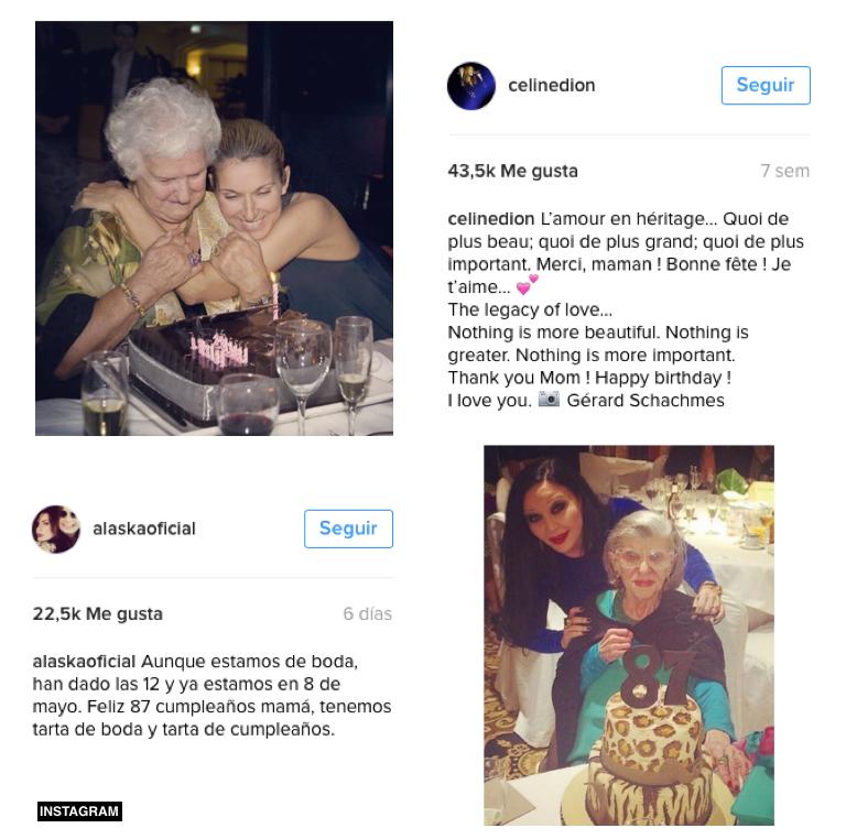 Cumpleaños Instagram