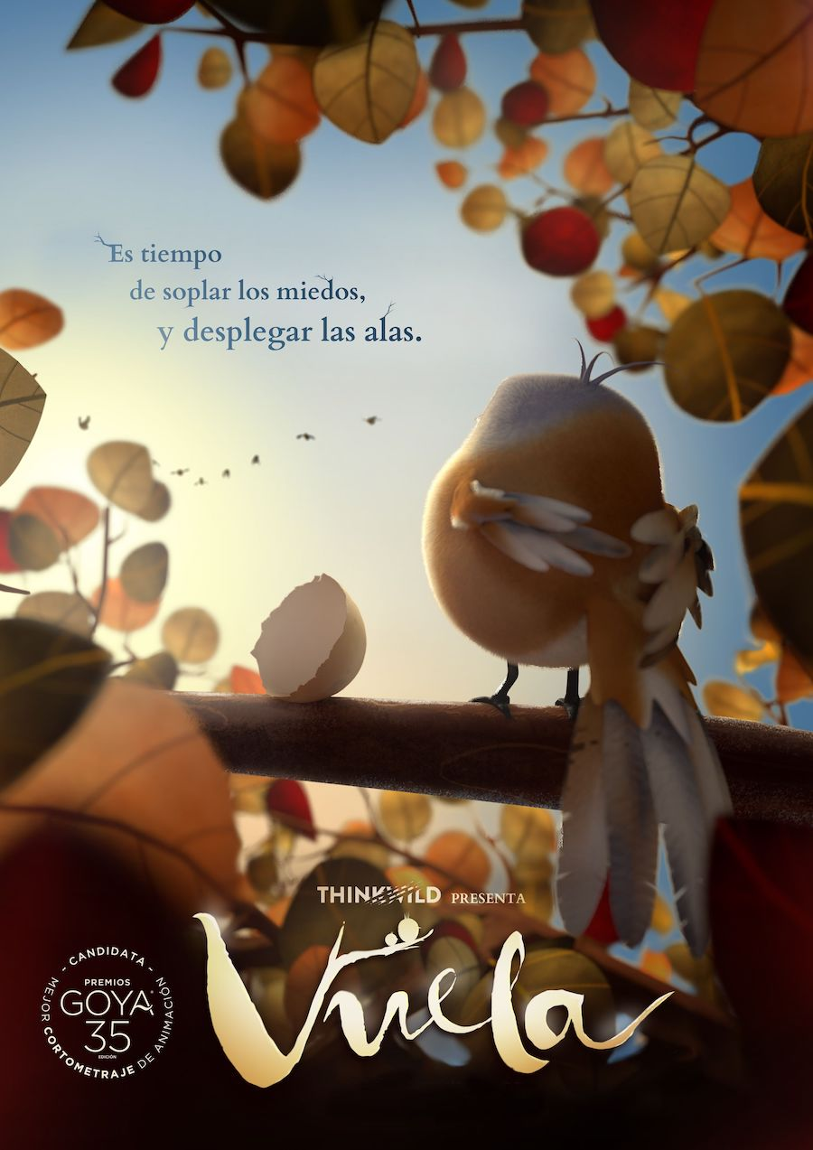 cortometraje vuela premios goya