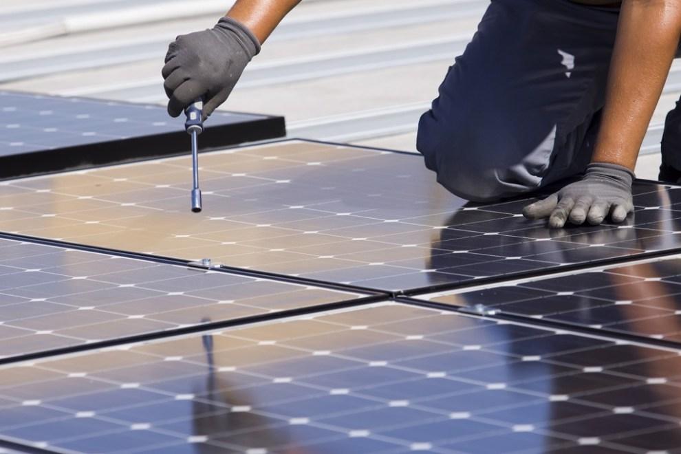 FRV solar panel