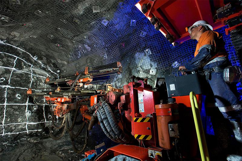 Pybar mining services underground mine