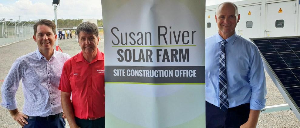 Susan River Solar Farm opening