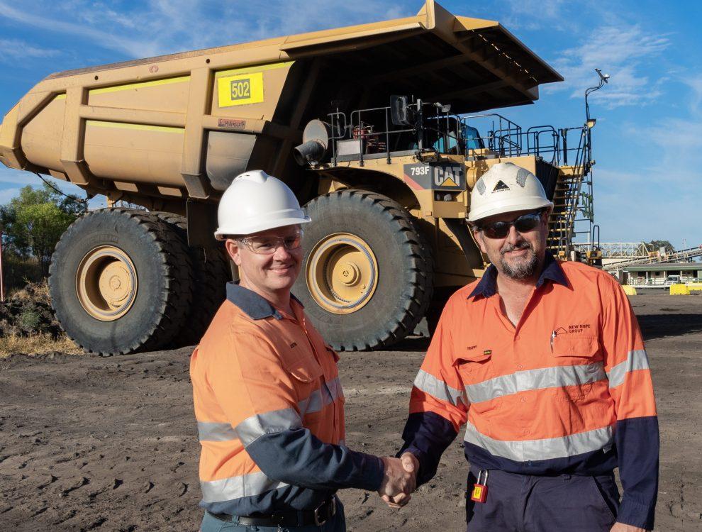 New Acland Mine truck