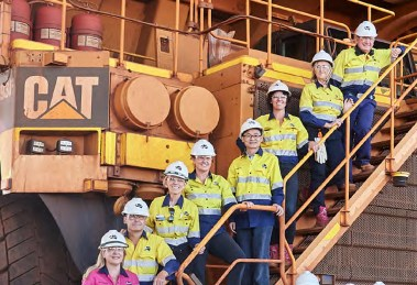 Fortescue Metals Group workers