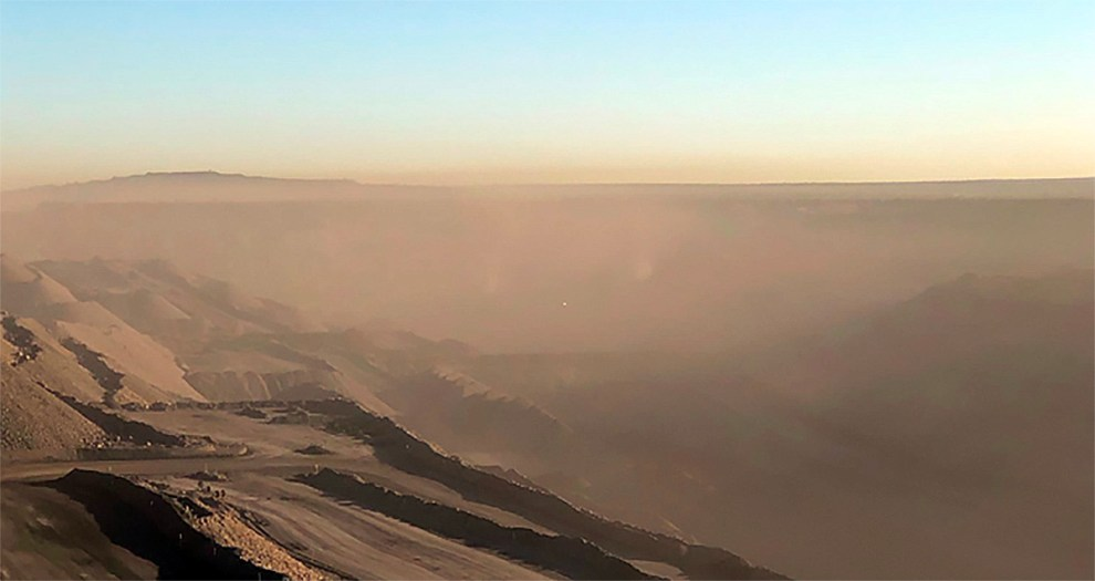 Bowen Basin dust