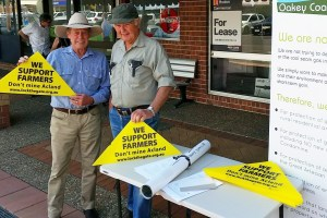 Oakey Coal Action Alliance farmers