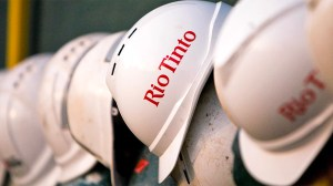 Rio Tinto hard hat