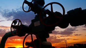 Coal seam gas exploration projects well head