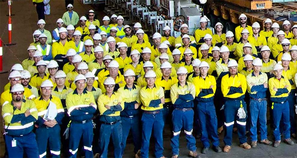 Civmec workers