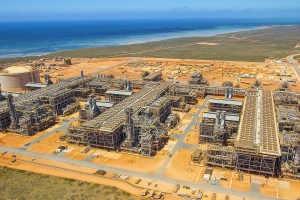 Gorgon LNG processing facility