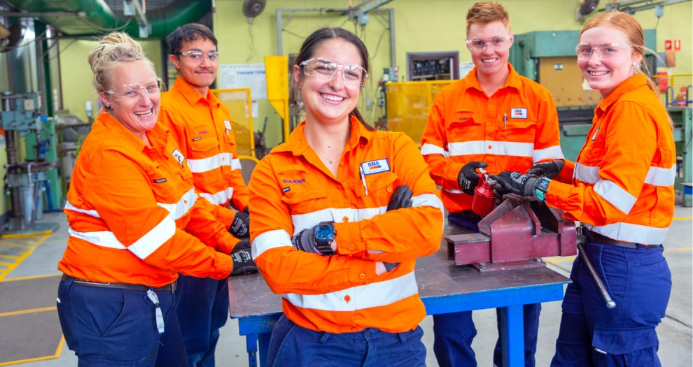 BHP apprentices