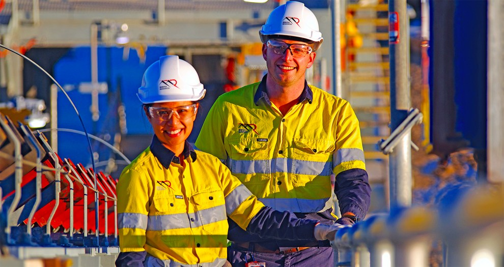 Mineral Resources workers