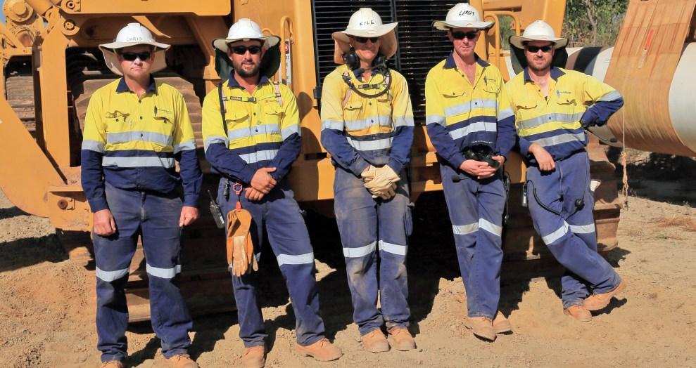 Monadelphous workers
