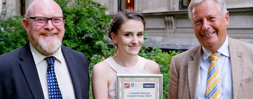 Queen Mary English student Seren Morris makes news with London citizen journalist competition win