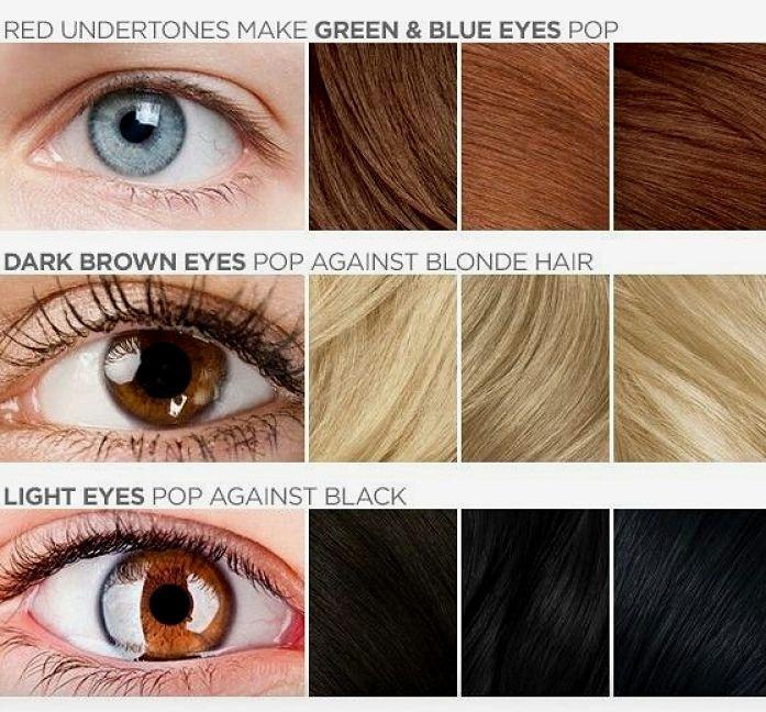 Best Hair Color For Blue Light Brown