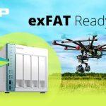 QNAPとMicrosoft、およびParagon Softwareは、QNAP NAS用のexFATドライバをリリース