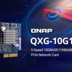 QNAP、NASまたはPC用の5スピード10GBASE-T NICのQXG-10G1Tを発表