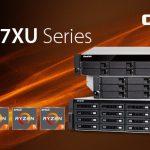 ラックマウントNASのRyzenのパワー – QNAP、TS-x77XUシリーズを発表