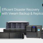QNAP NASは、効率的な災害時復旧のためのVeeam Backup & ReplicationでVeeam Readyであると検証されました