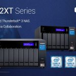 QNAP、優れたパフォーマンスを発揮するめの第8世代Intel Coreプロセッサ、HDMI 2.0、M.2 PCIe NVMe SSDスロットを採用した新しい10GbEとThunderbolt 3 NAS TVS-x72XTシリーズを発表