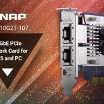 QNAP、NAS/PC用のデュアルポート5スピード10GBASE-T NICのQXG-10G2T-107を発表