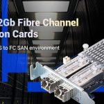 QNAP、デュアルポート16Gb/32Gbファイバーチャネル拡張カードを発表