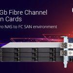 QNAPのデュアルポート16Gb/32Gbファイバーチャネル拡張カードが、FC SANソリューション向けにQuTS hero NASに対応しました