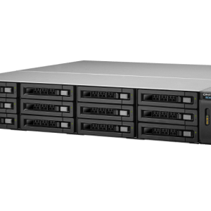 QNAP REXP-1220U-RP 12-Bay, 2U Rack-mountable (rails included) Expansion Unit