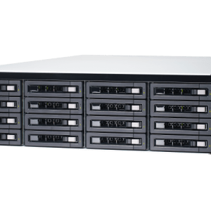 QNAP TDS-16489U-SE2-R2 20-Bay, 3U Rack-mountable (rails included) NAS with 2.10 GHz Intel Xeon E CPU and 128GB RAM